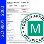 Verificación y certificación de CE – ISO – ENAC
