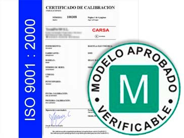 Verificación y certificación de CE – ISO