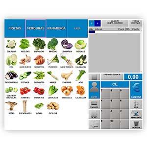software para TPV e fruterías