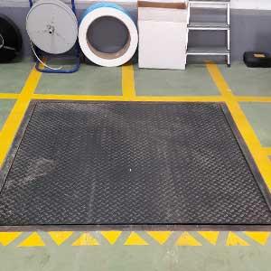 Báscula industrial instalada en Murcia por la empresa de montaje y mantenimiento de básculas Carsa.