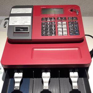 Caja registradora muy práctica instalada en Murcia por Carsa, reparación e instalación.