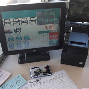 TPV para gestión de precios instalado por Carsa en Murcia, Almería y Alicante